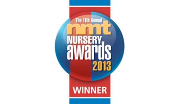 NMT Nursery Awards Winner 2013 logo