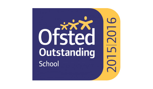 Ofsted Outstanding 2015/2016 logo