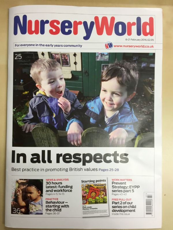 Nursery World Magazine February 2016