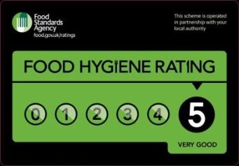 Food Hygiene Five Star Rating