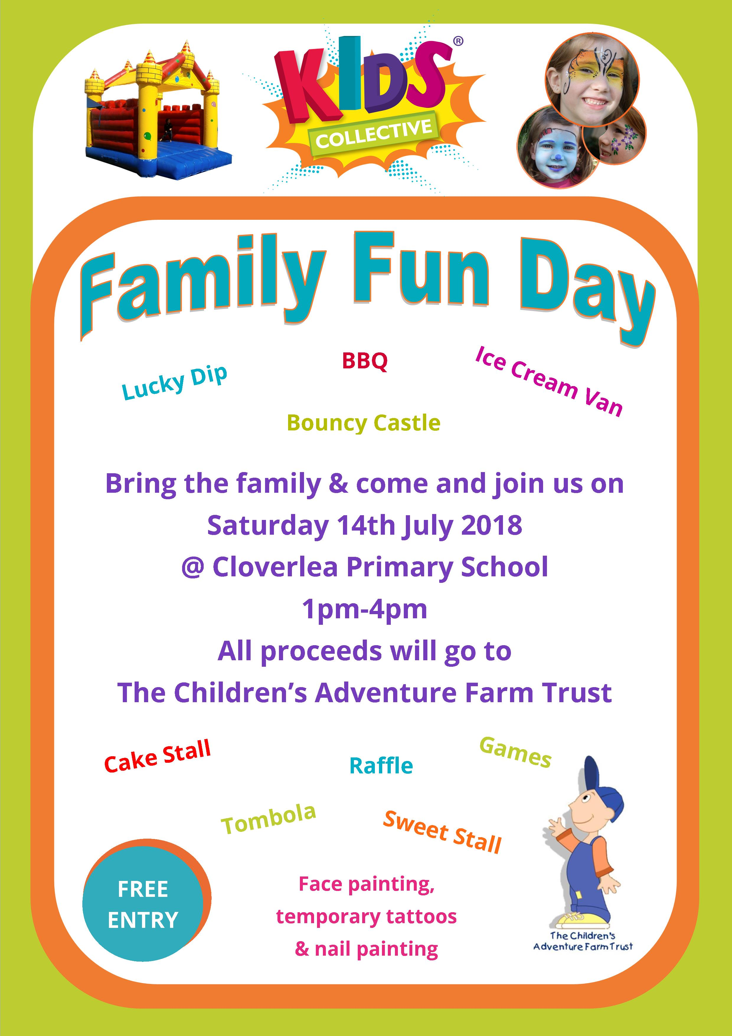 Kids Collective Family Fun Day July 2018
