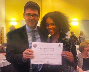 Elmscot Woodlands Giving Voice Award