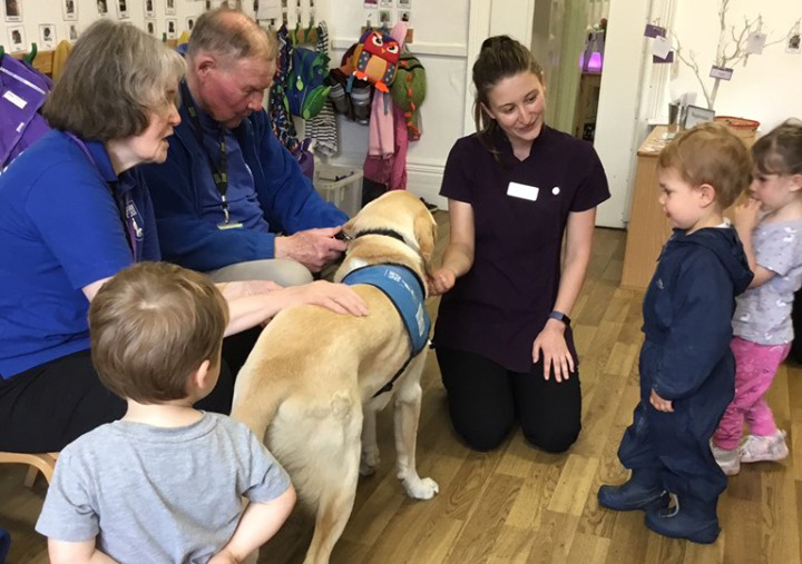 Broussa Guide Dog Visit (4)